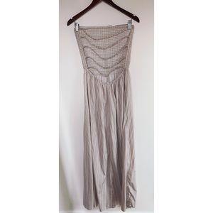 Slit Open Back Dress